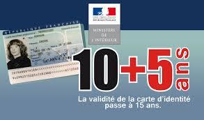 validite carte d'identité périmée francaise