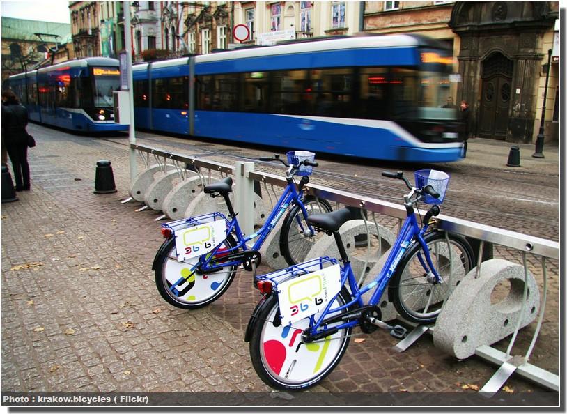 velo tramway cracovie code de la route en pologne