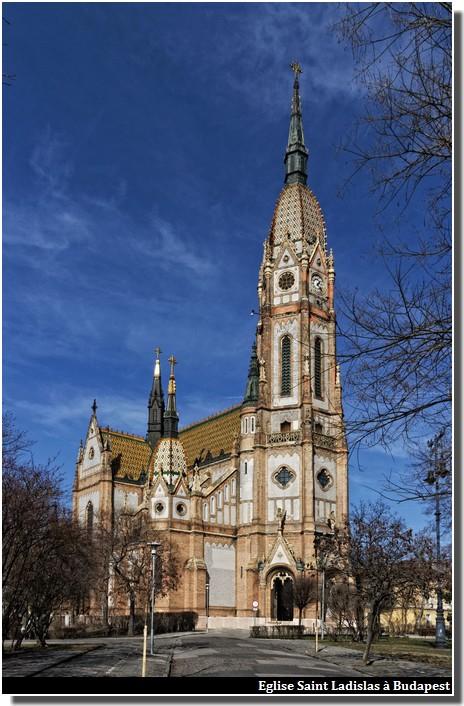 Budapest église Saint Ladislas