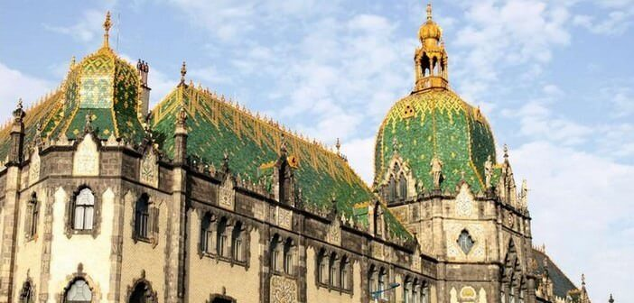 Budapest musée des arts appliqués