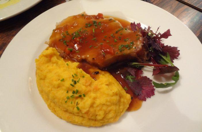 Coinstot Vino paris 2 cochon purée de carottes
