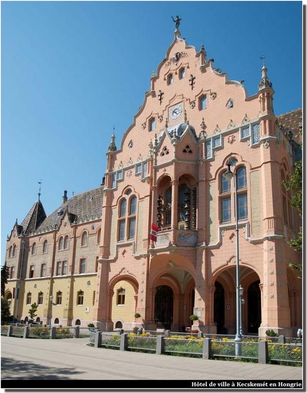 Hôtel de ville Kecskemét