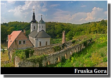 Monastère Kuvezdin Fruska Gora en Serbie