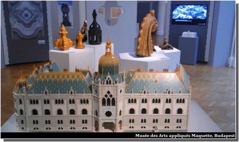 Musée des Arts appliqués budapest maquette