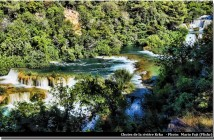 Riviere Krka Parc national Krka