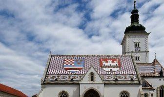 église saint marc de Zagreb