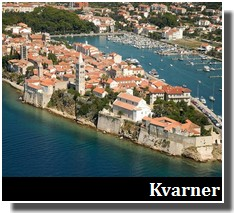 golfe du kvarner tourisme croatie