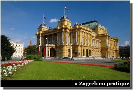 Zagreb Theatre National de Croatie