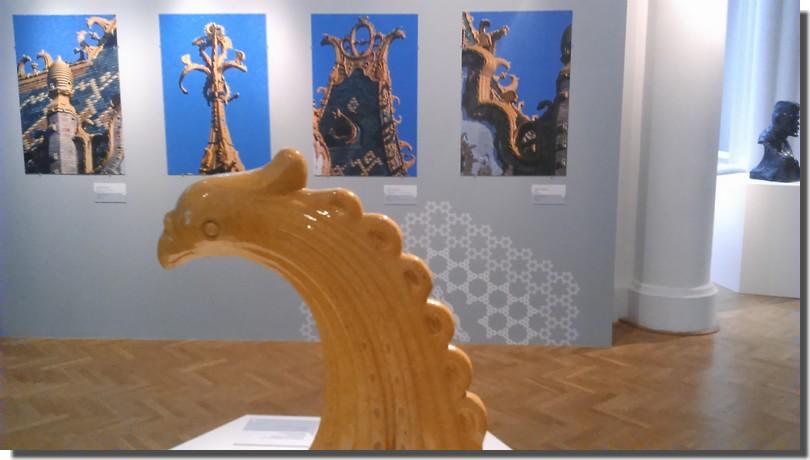 détails oeuvre exposition Lechner Budapest