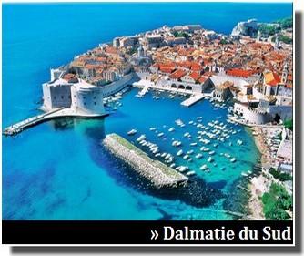 dalmatie du sud et dubrovnik