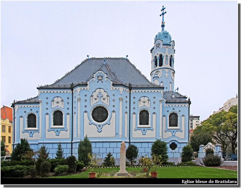 eglise bleue de Bratislava