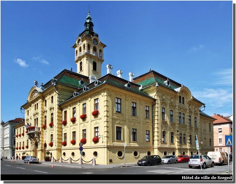 hotel de ville de Szeged