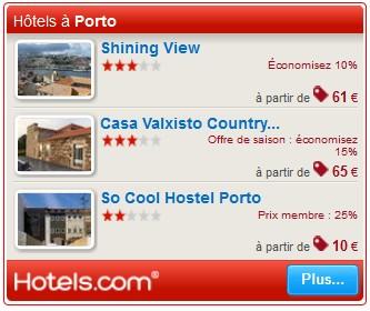 hotels porto