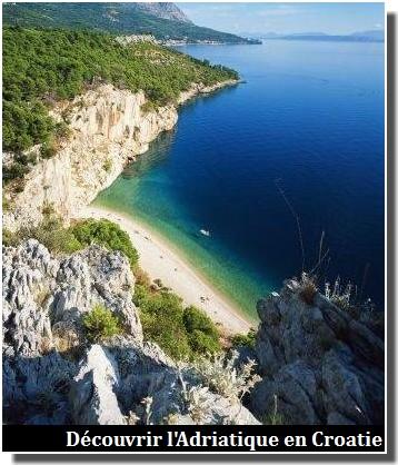 Mer en Croatie