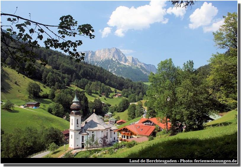 Haute Baviere Oberbayern: paysages et villages bucoliques