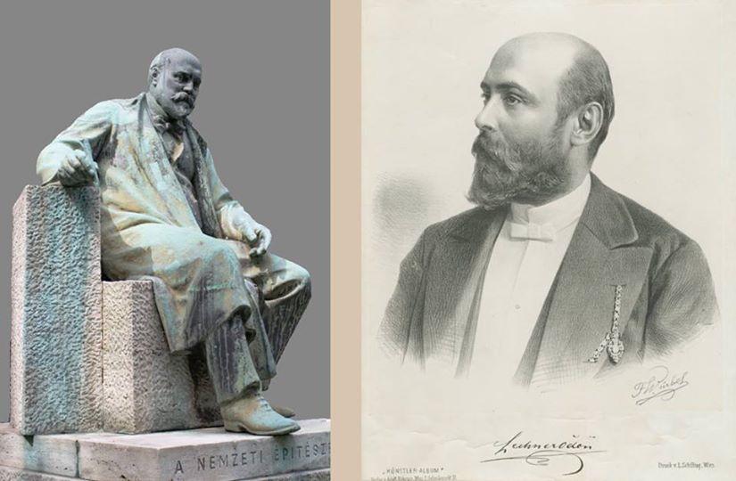 oden lechner statue et photo