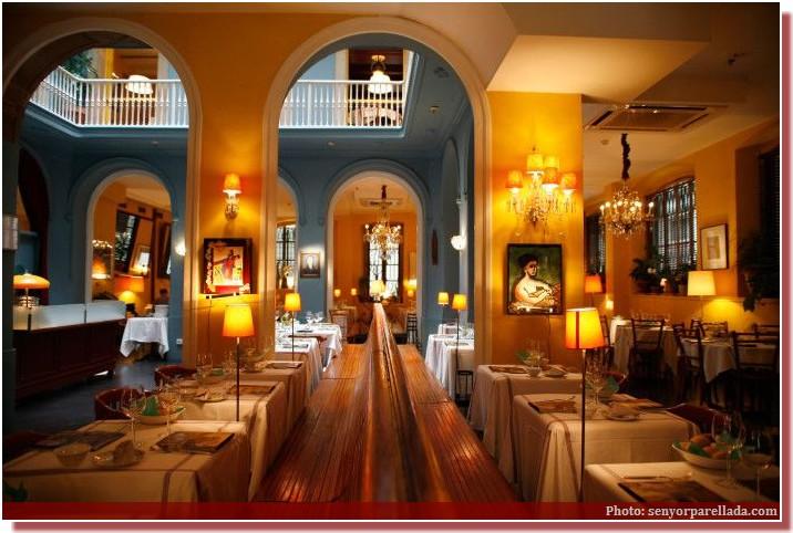 restaurant senyor parellada barcelona