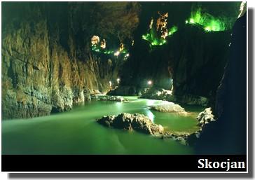 skocjan riviere souterraine en slovenie
