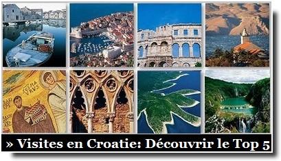 Visiter la Croatie touristique