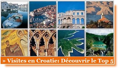 visiter la croatie top 5 sites