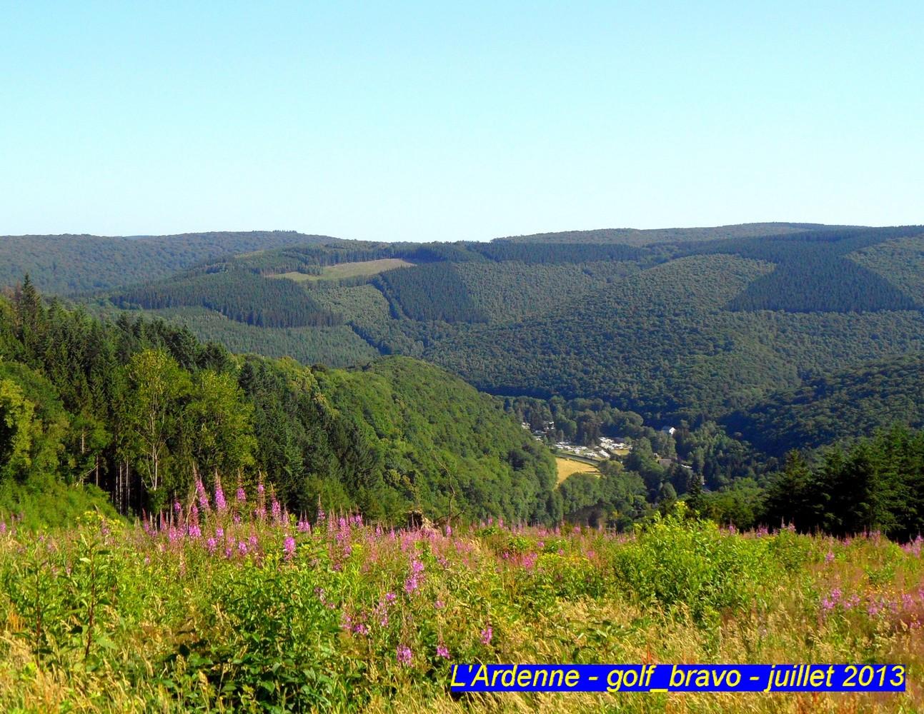 Explorer l'Ardenne belge en randonnée en suivant le GR 15