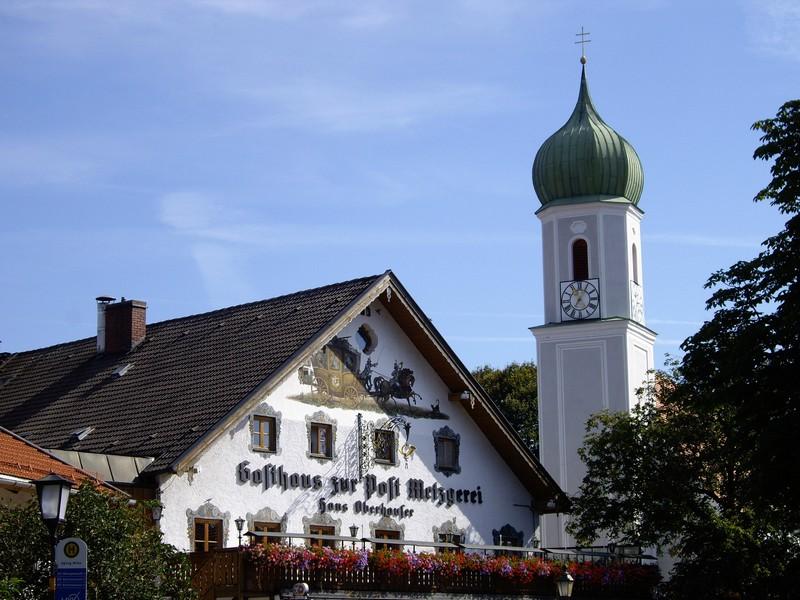 bad tolz village bavarois typique