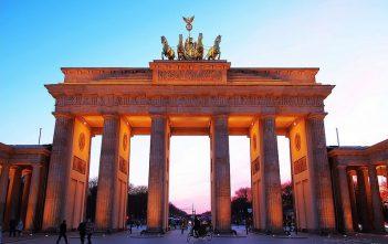 Berlin porte de brandebourg