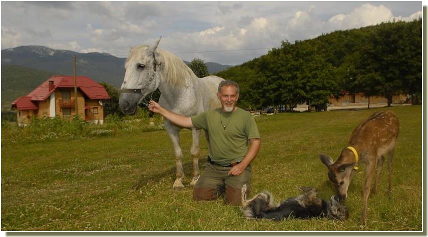 slow travel en Croatie avec Branko Sokac à Vrelo près de Plitvice