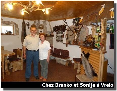 Chez Branko et Sonija à Plitvice