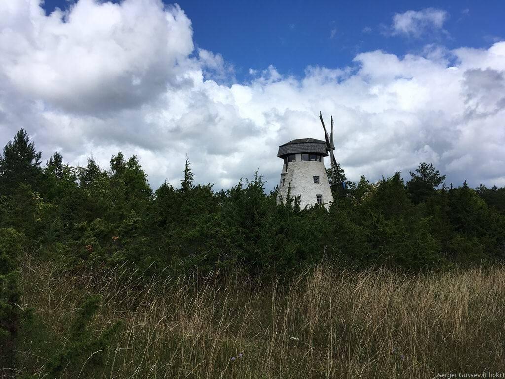 Moulin de la Baltique Ile Hiiumaa
