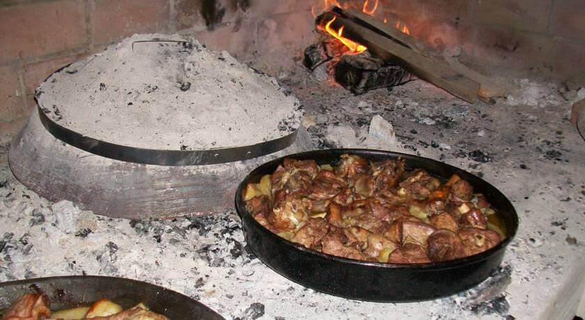 Repas bosnien croate: péca agrotourisme Matsuko