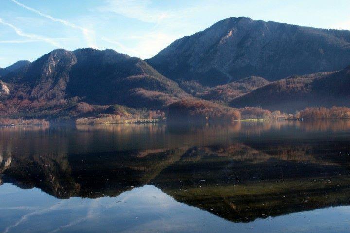 Vue lac Kochel Baviere