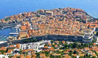 dubrovnik vieille ville fortifiée