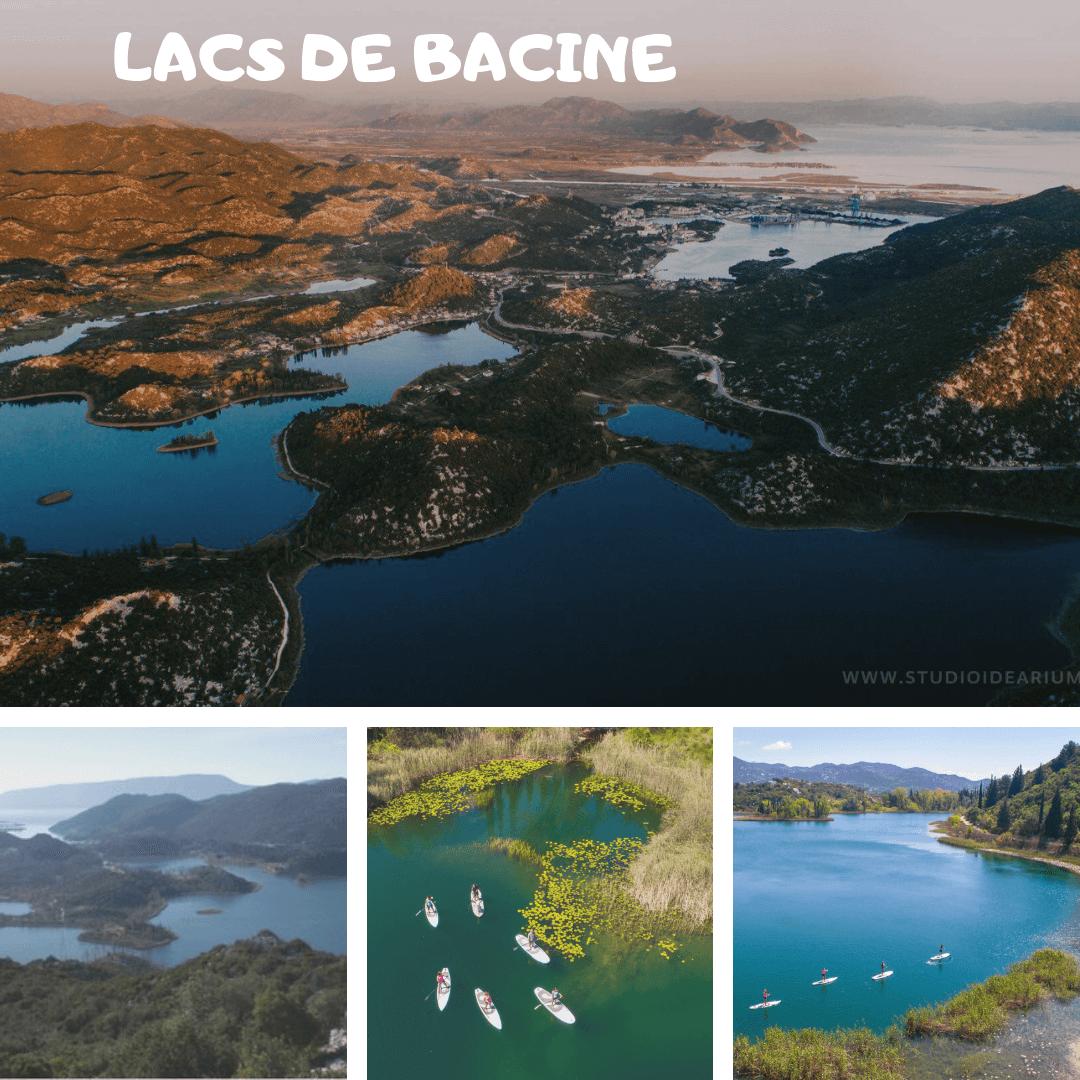 lacs de Bacine près du delta de la Neretva