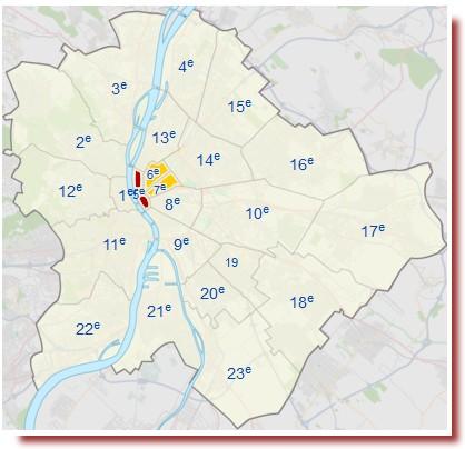 plan budapest arrondissements pour loger