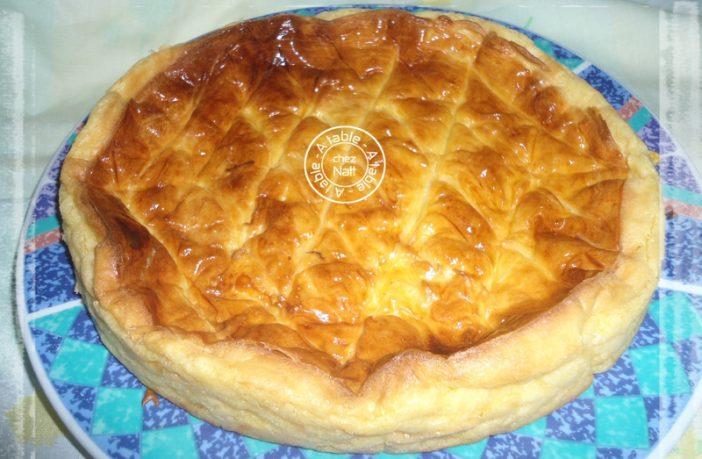 recette galette des rois franc comtoise au thermomix