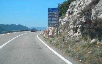 route magistrale en croatie