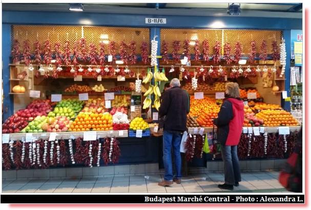 Budapest marché central