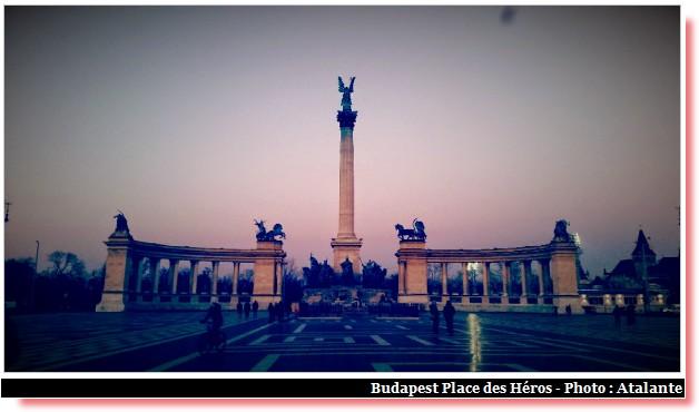 Budapest place des héros