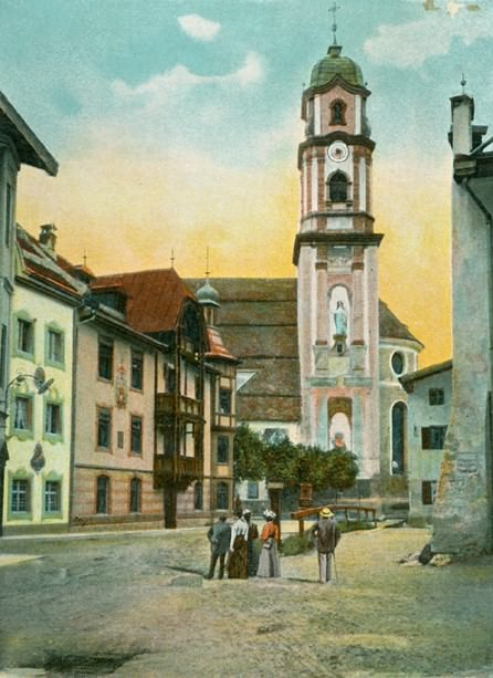 Carte postale ancienne Mittenwald