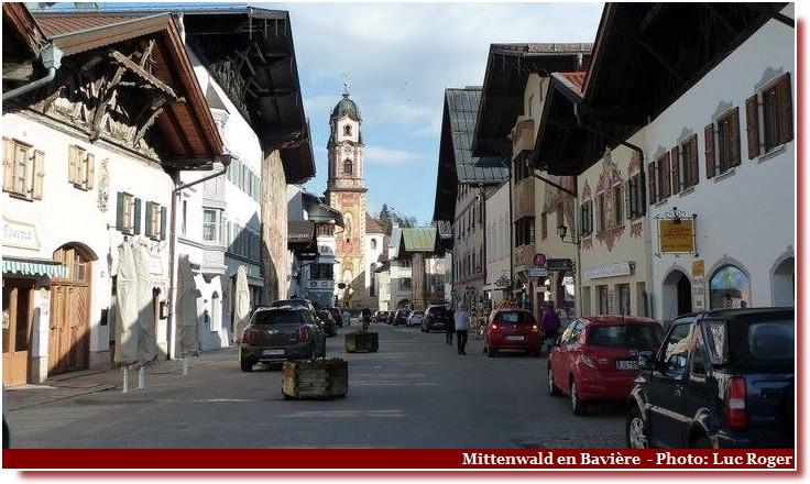 Mittenwald église église Saint-Pierre-Saint-Paul