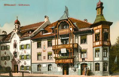 Mittenwald Goethehaus