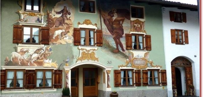 Mittenwald maison Ballenhausgasse