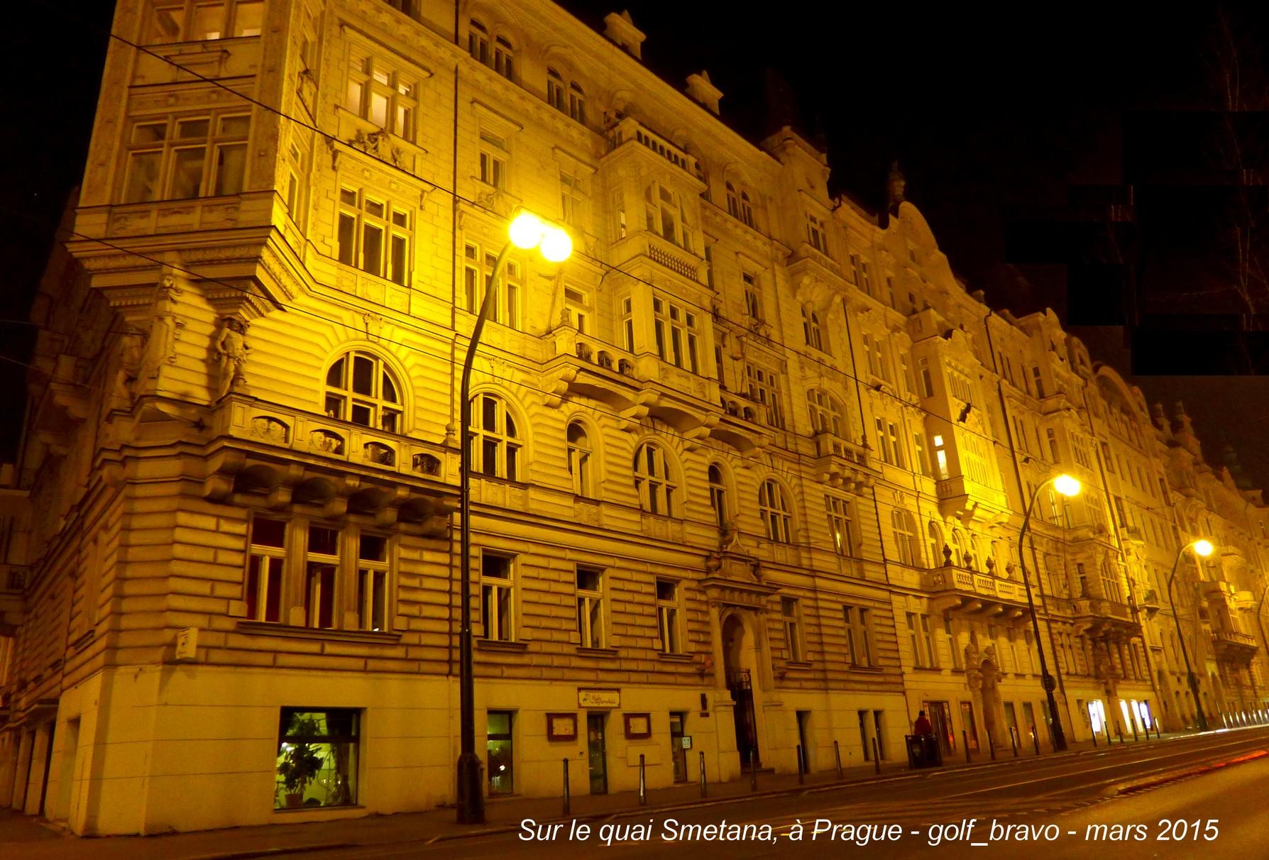 Prague magique : balade nocturne au long de la Vltava 2