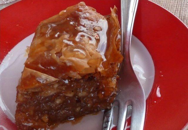 baklava serbe cuisine des balkans