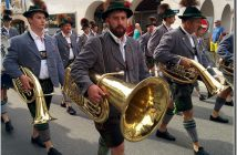 mittenwald fete de la musique fanfare baviere