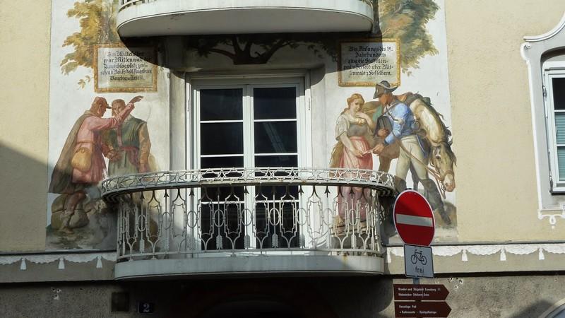 mittenwald luftlmalerei balcon