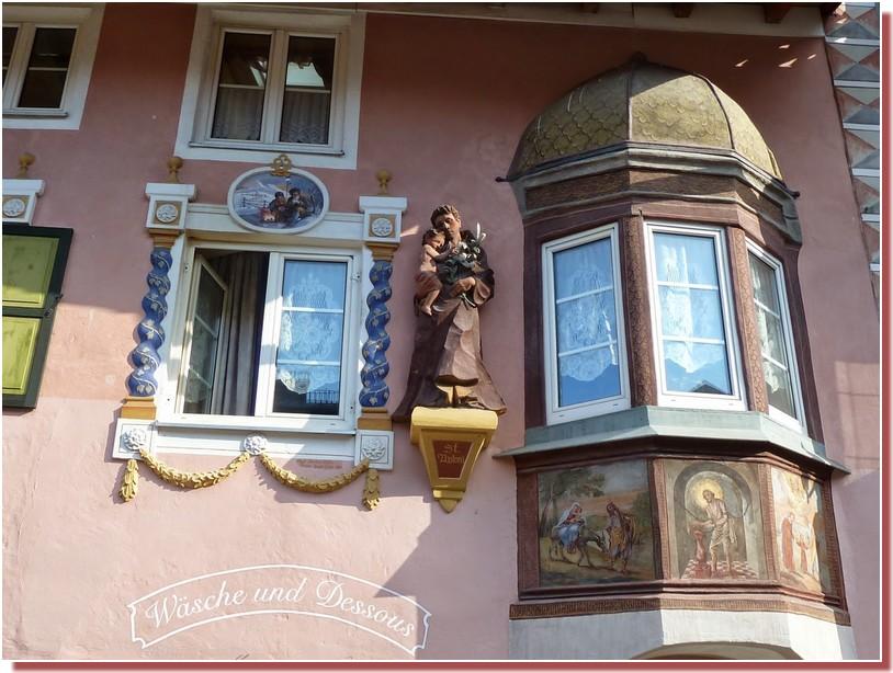mittenwald statue saint antoine