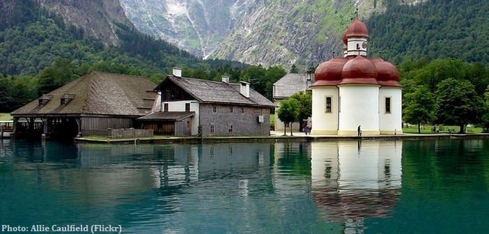 Lac Koenigssee saint bartholomé