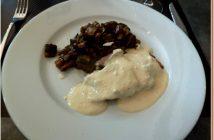 Restaurant le Four Castelnaudary Filet mignon moutarde courgettes